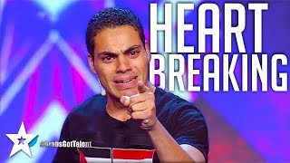 MOST EMOTIONAL AUDITION on Arabs Got Talent عمرو عمروسي - مصر