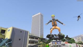 GTA 5 Mod - Uzumaki Naruto Náo Loạn Thành Phố Trong GTA V