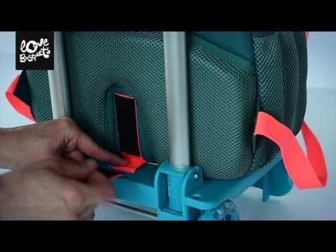 Como colocar la Mochila Doble Busquets en el carro Busquets - Nuevo método 1