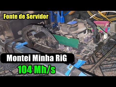 Rig minerando  - 104 Mhs