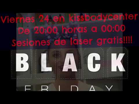 Black Friday Kissbodycenter