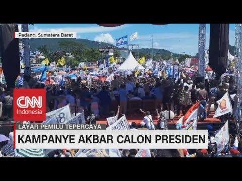 Prabowo Nangis, Jokowi Ajak Hindari Hoaks - Kampanye Akbar