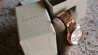 Esprit Watch Unboxing