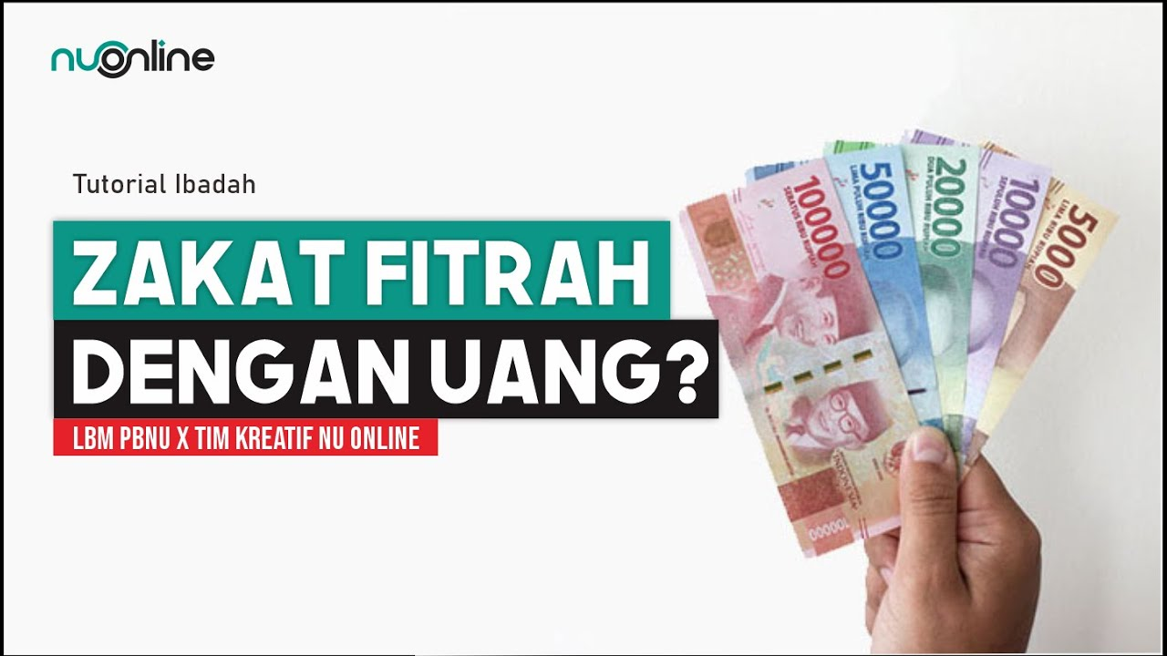 Hukum Zakat Fitrah dengan Uang