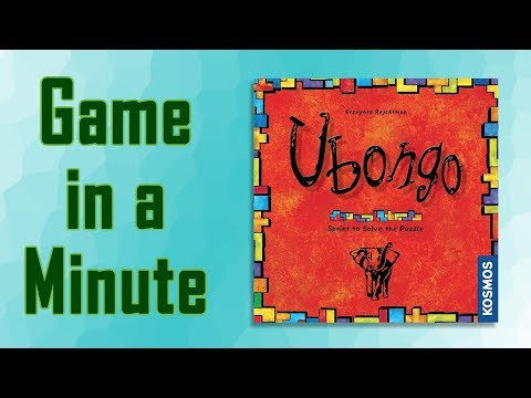 Game in a Minute Ep 86: Ubongo