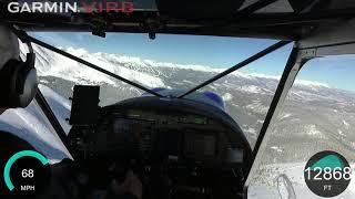Zenith Cruzer flight around Breckenridge Colorado