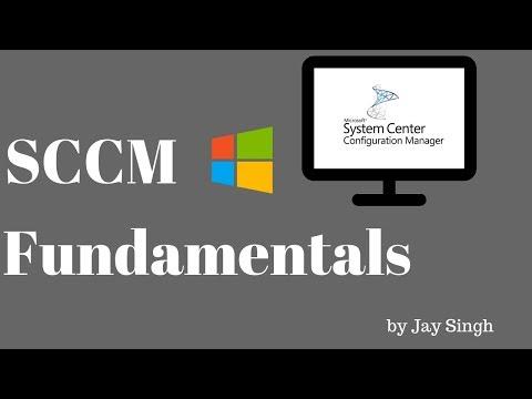 Part 1 - SCCM Fundamentals - YouTube