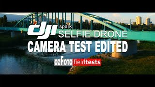 Dji Spark I Camera Footage test Edited I Fieldtest