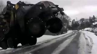 URAL - LIKE A BOSS! WHEN TRUCK DRIVER IS REAL PROFI!