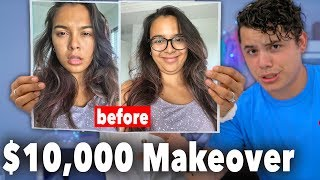 My Stylish Husband Gives Me A Makeover! ($10,000 dollars!)