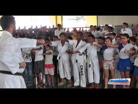 Prefeitura realiza o Lançamento do Pré-Olímpico Nacional de Karatê em Araguaína