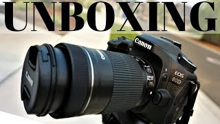 Canon 80D Premium Kit Unboxing | EF-S 18-55 IS STM + EF-S 55-250 IS STM | DSLR Camera Special