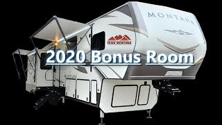New 2020 Montana Fifth Wheel Bonus Room/Living Area