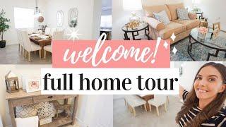 HOME TOUR 2019 | FARMHOUSE STYLE WHOLE HOUSE TOUR