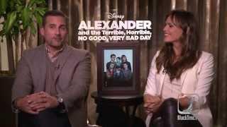 Steve Carell, Jennifer Garner on 'Alexander' and curing bad days!