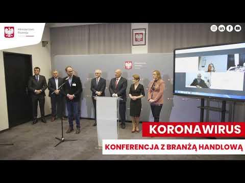 Emilewicz, handel i producenci o koronawirusie