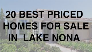 Lake Nona Homes For Sale - (407) 952-5818 - John Chin