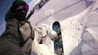 Tim Humphreys GoPro Snowboarding 2011 - Go Pro HD Hero self filming