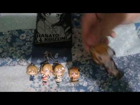 Unboxing Llaveros Love Live Hanayo Koizumi   El loco de los ajolotes