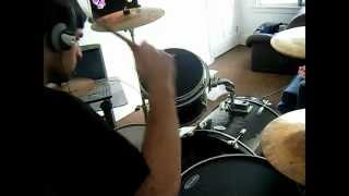 Chronic Future - Eyes Wide Open (Drum Cover)