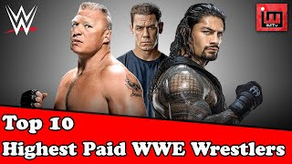 Top 10 highest paid WWE wrestlers | Noor Mujdded | IM Tv