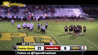 Prairie Grove (35) vs Huntsville (7) 2014
