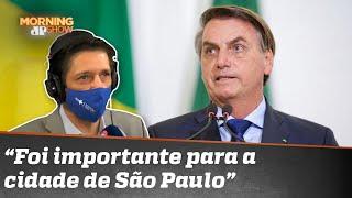 Ricardo Nunes fala sobre encontro com Bolsonaro