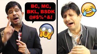 WHY KRK MUST BE STOPPED! | FUNNIEST ROAST OF KAMAAL R KHAN