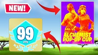 AMBREW & SSUNDEE GET THE MOST POINTS POSSIBLE IN DUO POP UP CUP! Fortnite Battle Royale!