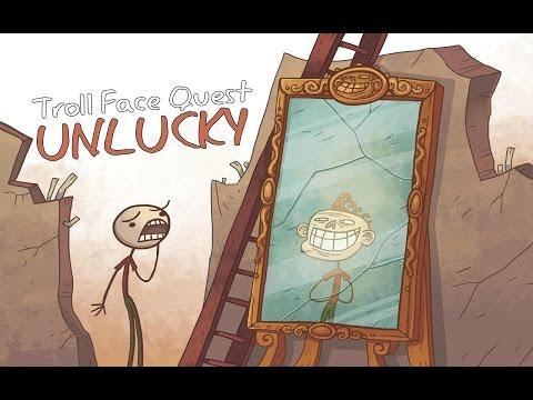 Полное прохождение игры - Troll Face Quest Unlucky (1-42 уровень) - на Android/IOS(1080p)
