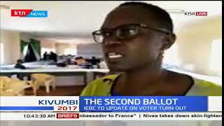 Kitutu Chache South Constituency returning officer Madam Hilda updates on tallying process