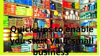 How to start a small retail business/ shop- Quicker tips to make you successful in 1year