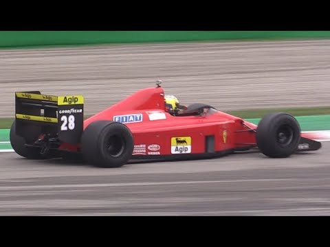 1989 Ferrari 640 F1 ex Gerhard Berger Insane V12 Sound in Action at Monza Circuit