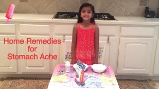 Kids Health: Home Remedies for Stomach Ache