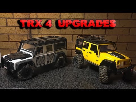 Upgrading Our Traxxas TRX-4's - All Additions (SO FAR)