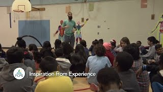 Riverside Elementary School Teacher Provides Inspiration from Experience