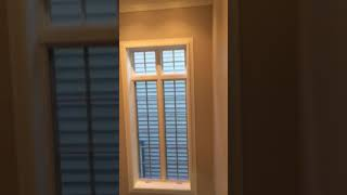 Interior residential rolling shutters