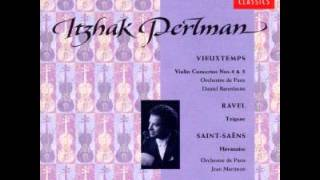 Itzhak Perlman plays Vieuxtemps Concerto 4 & 5