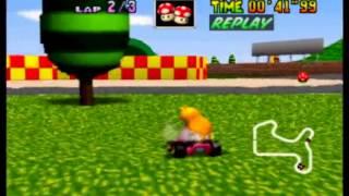 Mario Kart 64 - MR 3lap in 1'15''30
