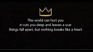Miley Cyrus Nothing Breaks Like A Heart Lyrics