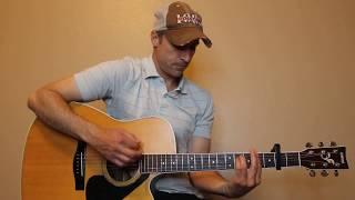 Lay Low - Josh Turner - Guitar Lesson   Tutorial