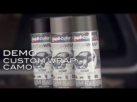 Dupli-Color Bed Armor and Custom Wrap Camouflage