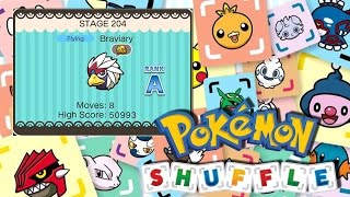 Braviary  - (Pokémon) - Pokemon Shuffle Mobile - Fase 204 [Braviary]
