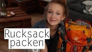 Ich packe meinen Backpack und nehme euch mit! - Rucksack must haves | Mirellativegal