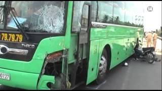 VTC14_Tài xe xe khách tông chết 4 người khẳng định không vượt ô tô phía trước