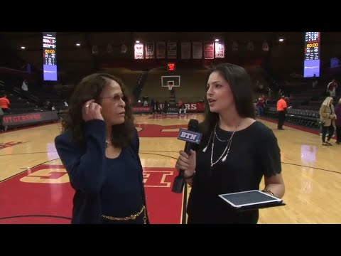 C. Vivian Stringer Post Game Interview - Women's Basketball