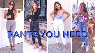 7 Pants You Need | Basic Must Haves