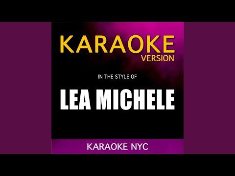 Battlefield (Originally Performed By Lea Michele) (Karaoke Version)