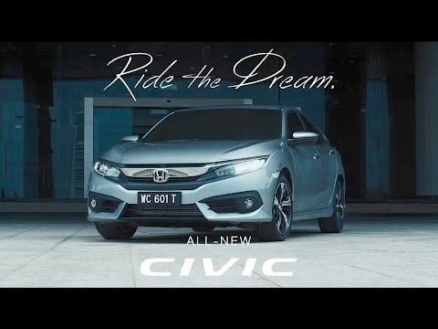 2016 Honda Civic – Ride The Dream