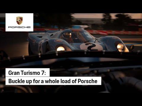 Gran Turismo 7 : Gran Turismo 7 x Porsche - first look